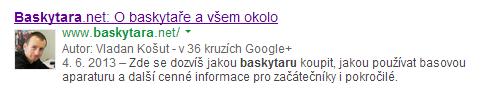 Výsledek vyhledávání s obrázkem - Google Authorship - Baskytara.net